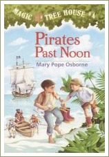 magic tree house, pirates past noon