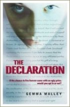 the declaration, books for teen girls