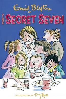 secret seven, enid blyton