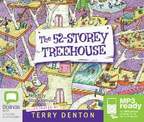 the 52 storey treehouse, audio books for children