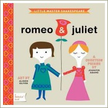 romeo and juliet, little master shakespeare