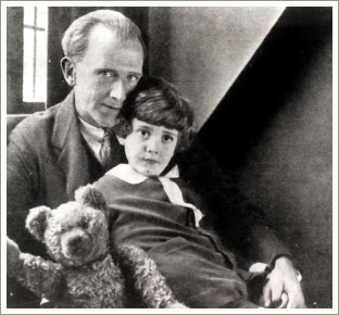a a milne, christopher robin