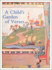 a childs garden of verses, short rhyming poems, poetry for kids