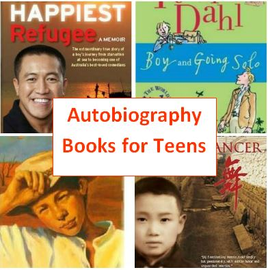 interesting autobiographies for teenagers
