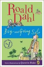 boy and going solo, roald dahl, roald dahl biography