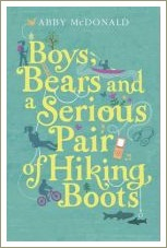 boys bears and a serious pair of hiking boots,