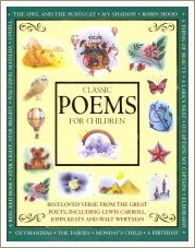 classic poems for children, short rhyming poems