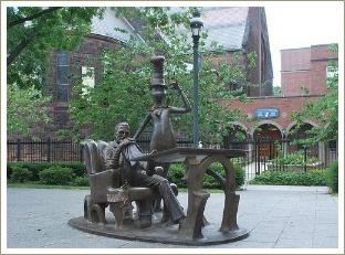 dr seuss memorial garden
