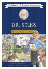 dr seus young author, dr seuss biography