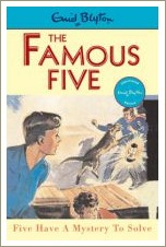 five have a mystery to solve, enid blyton, the famous five