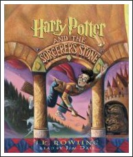 harry potter, audio books for children