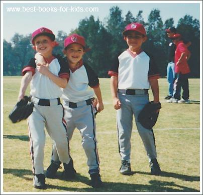 boys at baseball