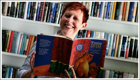 mem fox reading, wombat divine