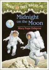 magic tree house, midnight on the moon