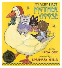 my very first mother goose, short rhyming poems,