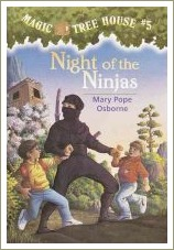 night of the ninjas, magic tree house