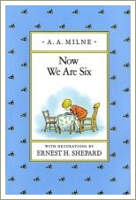 now we are six, a a milne, short rhyming poems