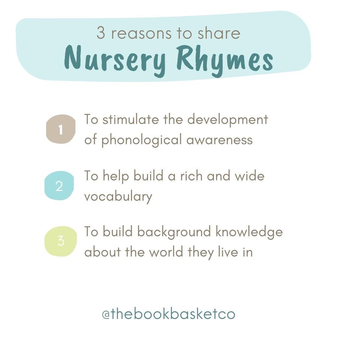 why nursery rhymes matter