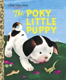 the poky little puppy, little golden books