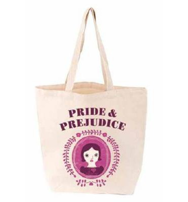 pride and prejudice tote, babylit