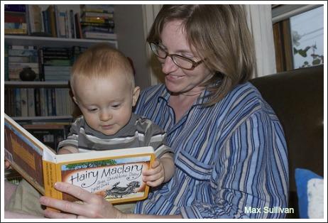 reading hairy maclary,
