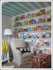 reading nook, reading spot