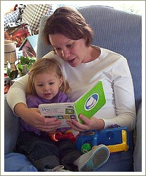 reading quotes, mum reading to little girl