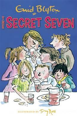secret seven, enid blyton