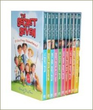 secret seven slipcase, enid blyton