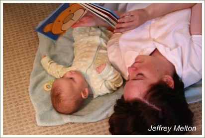 phonological awareness, reading to babies