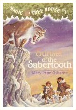 magic tree house, sunset of the sabertooth