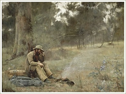 Down On His Luck, Frederick McCubbin