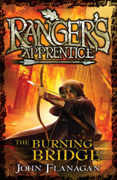 the burning bridge, rangers apprentice