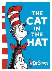 the cat in the hat, dr seuss book titles
