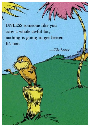 the lorax a fantastic dr seuss book about the environment