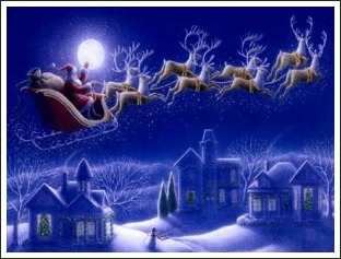 The Night Before Christmas Poem: A Visit From St Nicholas.