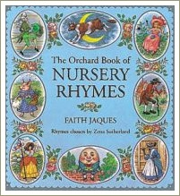 the orchard book of nursery rhymes, short rhyming poems
