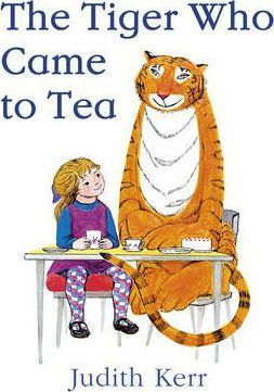 classic childrens picture books, the tiger who came to tea