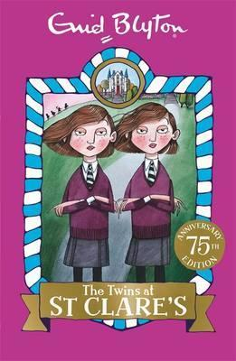 twins at st clares, enid blyton
