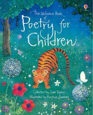 childrens poetry books, the usborne book of poetry for children