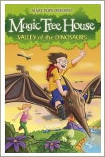 magic tree house, valley of the dinosaurs
