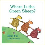 where is the green sheep, mem fox books, phonological awareness