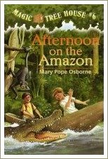 afternoon on the amazon, magic tree house books