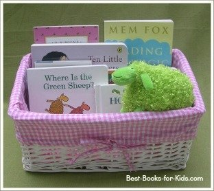 baby book gift basket