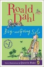 boy and going solo, roald dahl