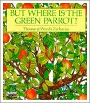 but where in the green parrot, books for toddlers
