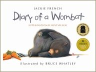 diary of a wombat, animal books for children