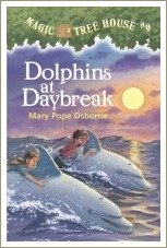 dolphins at daybreak, magic tree house books