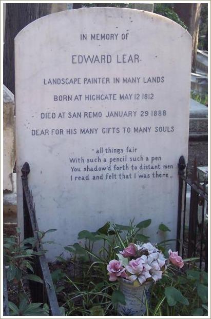 edward lears grave