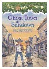 ghost town at sundown, magic tree house books